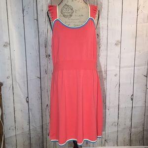ModCloth Reason To Reminisce Knit Coral Dress 2X